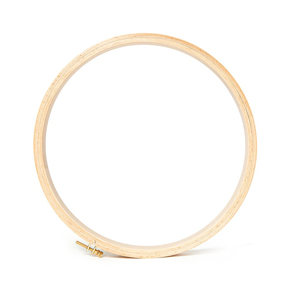 Wooden Embroidery Hoops 7 8 X 10 Round Access Commodities