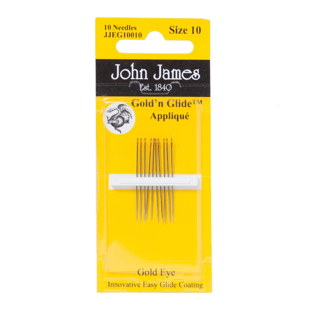 "John James Straight MATTRESS NEEDLES Round Point 14 Gage X 6/"" Long 1 Dozen"